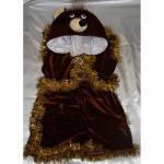 Карнавальный костюм Медведь,Умка,Бурый Белый велюр