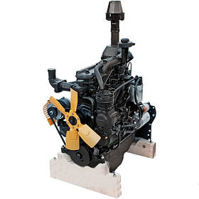 Двигатель МТЗ Д243-91М  (81л.с.) ТНВД, корзина, компр., генер., старт., НШ (пр-во ММЗ)Двигатель ММЗ