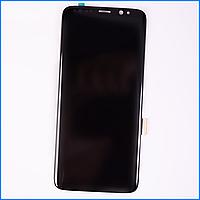 Дисплей (экран) для Samsung G955F Galaxy S8 Plus (2017) + тачскрин, черный, Midnight Black, оригинал