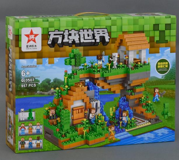 Конструктор Minecraft QL 0507 Дерево-будинок, 957 дет.