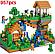 Конструктор Minecraft QL 0507 Дерево-будинок, 957 дет., фото 3