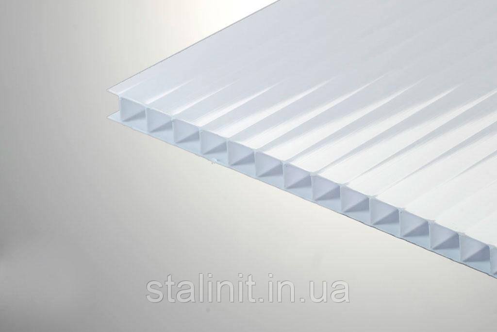 Сотовый поликарбонат  Polygal-Рекламный 4 мм
