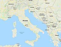 Украина-Италия автобусный билет, автобус в Рим, Венецию и другие города Италии