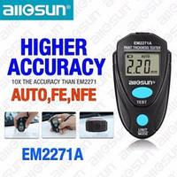 Allosun EM2271A толщиномер тестор краски обновленная версия ЕМ2271 Аллосан