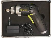 Отвёртка аккумуляторная с фонарем Titan PAO 3,6L SET
