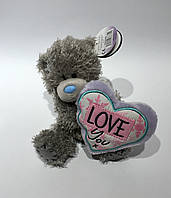 "Ведмедик Teddy MTY з серцем ""Love You"""