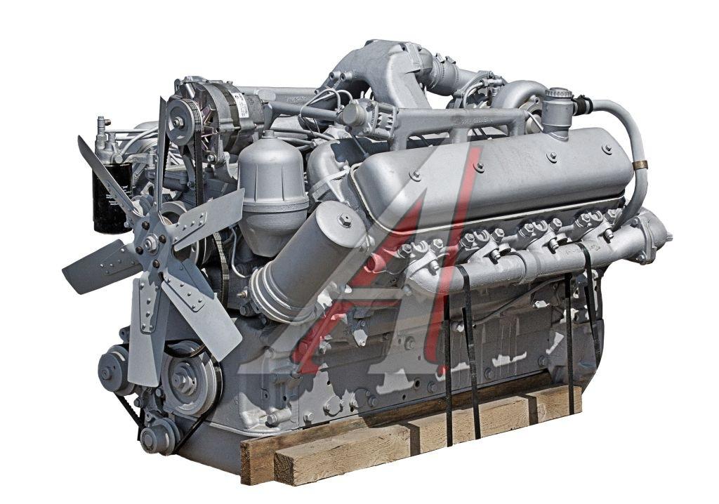 Двигатель ЯМЗ 238НД3 осн.компл. (Тр. К-700 и его модиф.) в сб. без КПП и сцепл. (пр-во ЯМЗ)