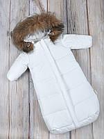 """Комбинезон для новорожденного """"Дутик SuperStar"""" Белый, фото 1"""