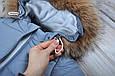 """Комбинезон для новорожденного """"Дутик SuperStar"""" серый, фото 3"""