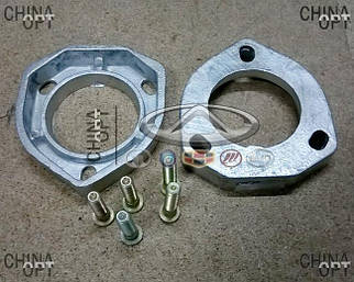 Проставки увеличения клиренса, задние, комплект, h=250mm, Chery Eastar [2.0, B11, ACTECO], B11RR, Ukraine Product