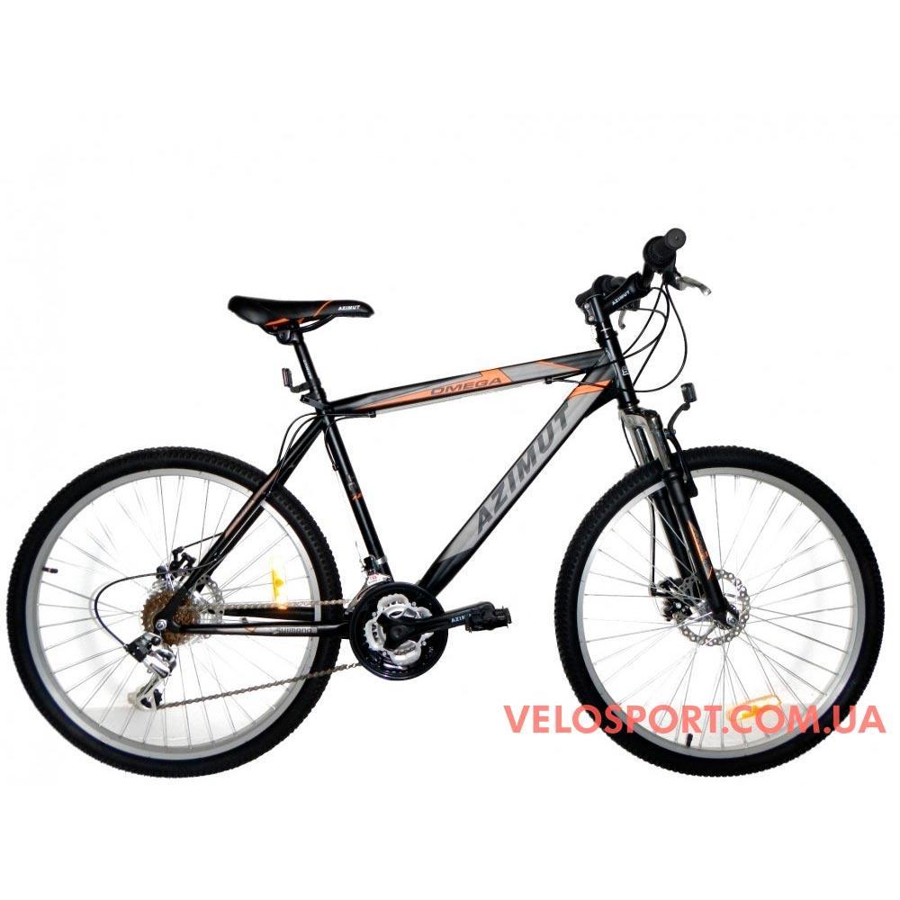 Подростковый велосипед Azimut Omega 24 D