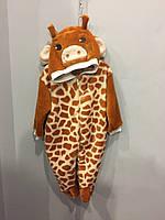 Махровый комбинезон жираф, фото 1