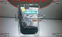 Брызговики задние, комплект 2шт., резиновые, Chery Amulet [до 2012г.,1.5], TUN 2, Mud Flaps