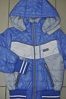 Куртка детская демисезонная с отстегивающимися рукавами