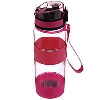Спортивная бутылка 450 мл (PB-450) Розовая