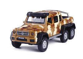 Машина металл Mercedes G-6х6 Gelenvagen 1:32