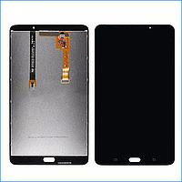 Дисплей (экран) для Samsung T285 Galaxy Tab A 7.0 LTE + тачскрин, черный, оригинал