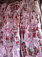 Вышитая блуза детская на поплине, фото 6