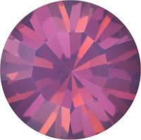 Пришивные стразы в цапах Preciosa (Чехия) ss16 Amethyst Opal/серебро