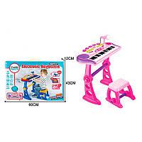 Музыкальная игрушка синтезатор со стульчиком BO-30, 37 клавиш