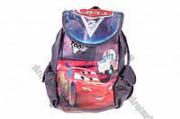 """Сумка рюкзак детская (Тачки) (фиолетовая) 18x30 """"LP"""" купить оптом сумку детскую"""