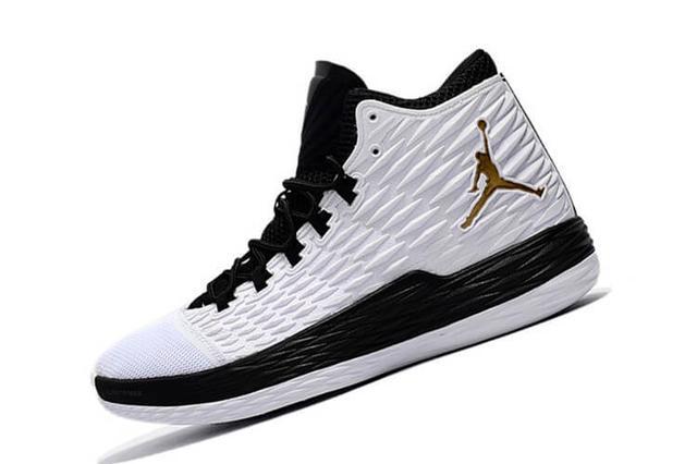 Nike Jordan Melo M13 X White Black Gold