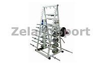 Подставка (стойка) для штанг  (металл, р-р выс.-178см, шир.-94см, глуб.-82см)