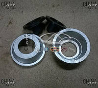 Проставки увеличения клиренса, передние, комплект, Chery Amulet [1.6,до 2010г.], A15FPR, Ukraine Product
