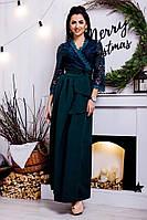 Женское вечернее платье в пол №121-03670/1 БАТАЛ