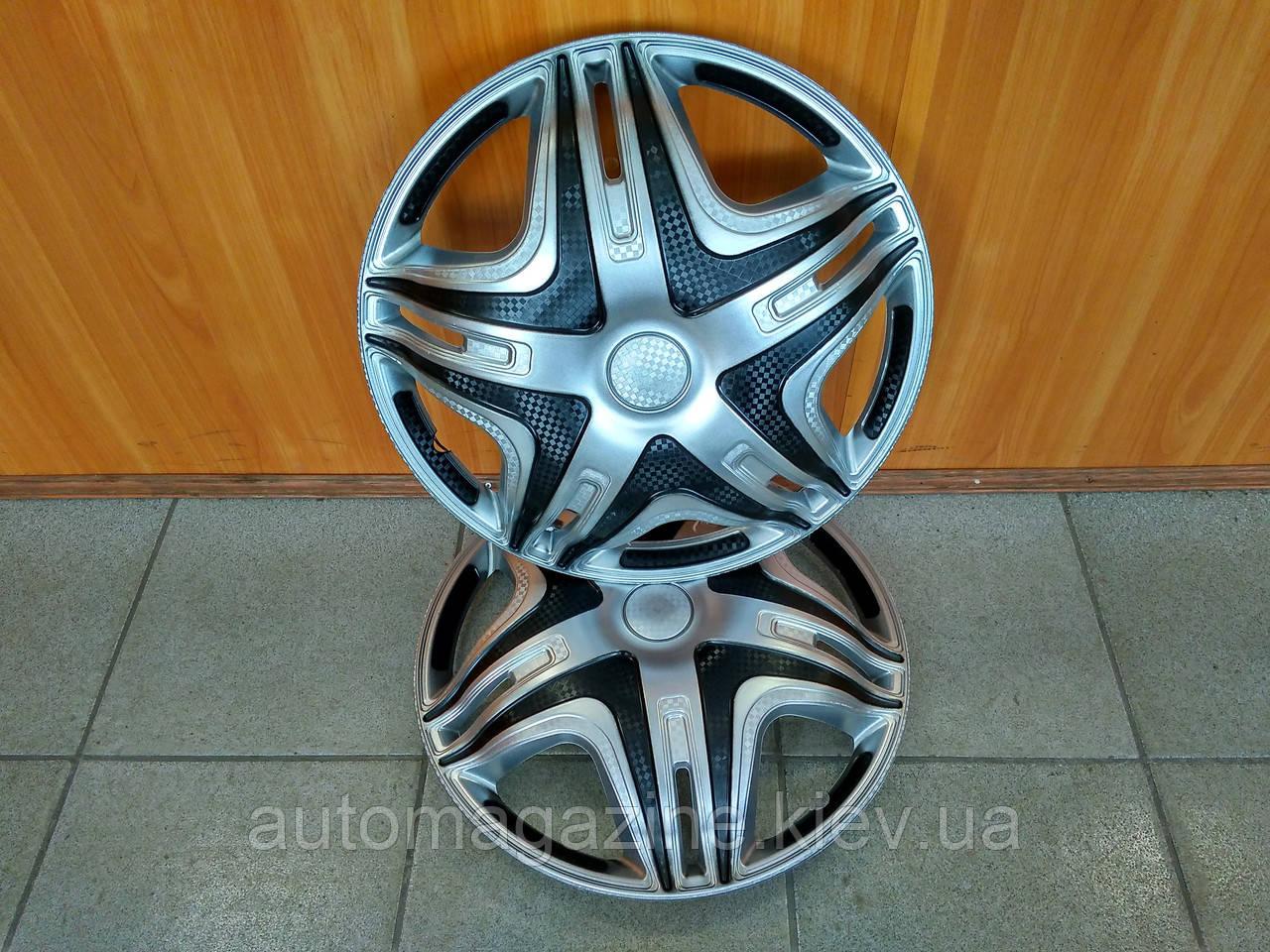 """Ковпаки переднього колеса Газель R16 """"Дакар Super Silver"""" (опуклий)"""