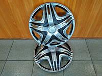 """Колпаки переднего колеса Газель R16 """"Дакар Super Silver"""" (выпуклый)"""