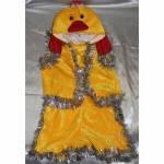 Карнавальный костюм Утенок ,цыпленок велюр, фото 1