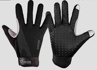 Перчатки велосипедные черные