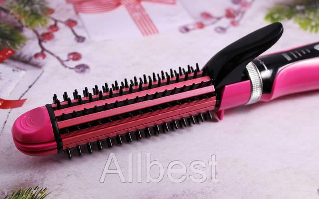 Утюжок-плойка для волос Gemei GM 2922 (гофре, локон, выпрямитель)