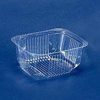 Пластиковая упаковка для салатов и полуфабрикатов пс-170 (500 мл)