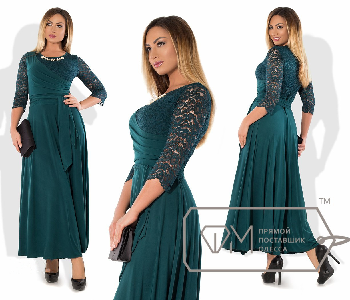 50a26d7c2b74108 Вечернее платье батал - All You Need - прямой поставщик женской одежды оптом  и в розницу