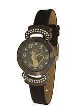 Часы женские дизайнерские котенок NewDay