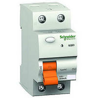 Дифференциальный выключатель нагрузки (УЗО) ВД63 2P 25A 300МA