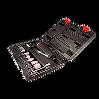 Пневмошлифмашина Mighty Seven QA-0215A прямая с набором принадлежностей