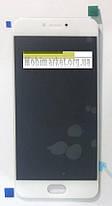 Модуль (сенсор+дисплей) для Meizu Pro 6 (M570), Pro 6s білий, фото 2