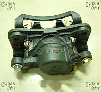 Суппорт тормозной задний правый, в сборе, с колодками, Great Wall Hover [H2,2.4], Aftermarket