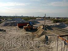 Пісок митий, частково збагачений (річковий)