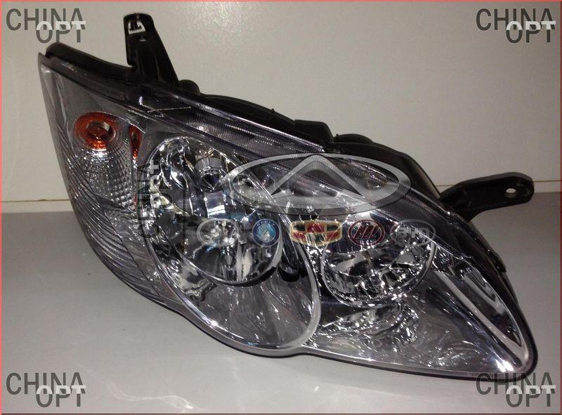 Фара передняя правая, BYD F3 [до 2012г.,1.5], BYDF3-4121200, Aftermarket