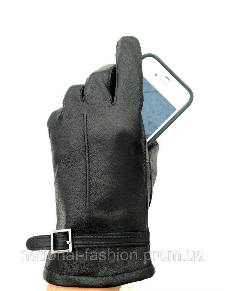 Сенсорные кожаные женские перчатки Everiot Touch EVT-5534