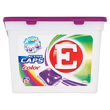 Капсулы для стирки E color  16 шт