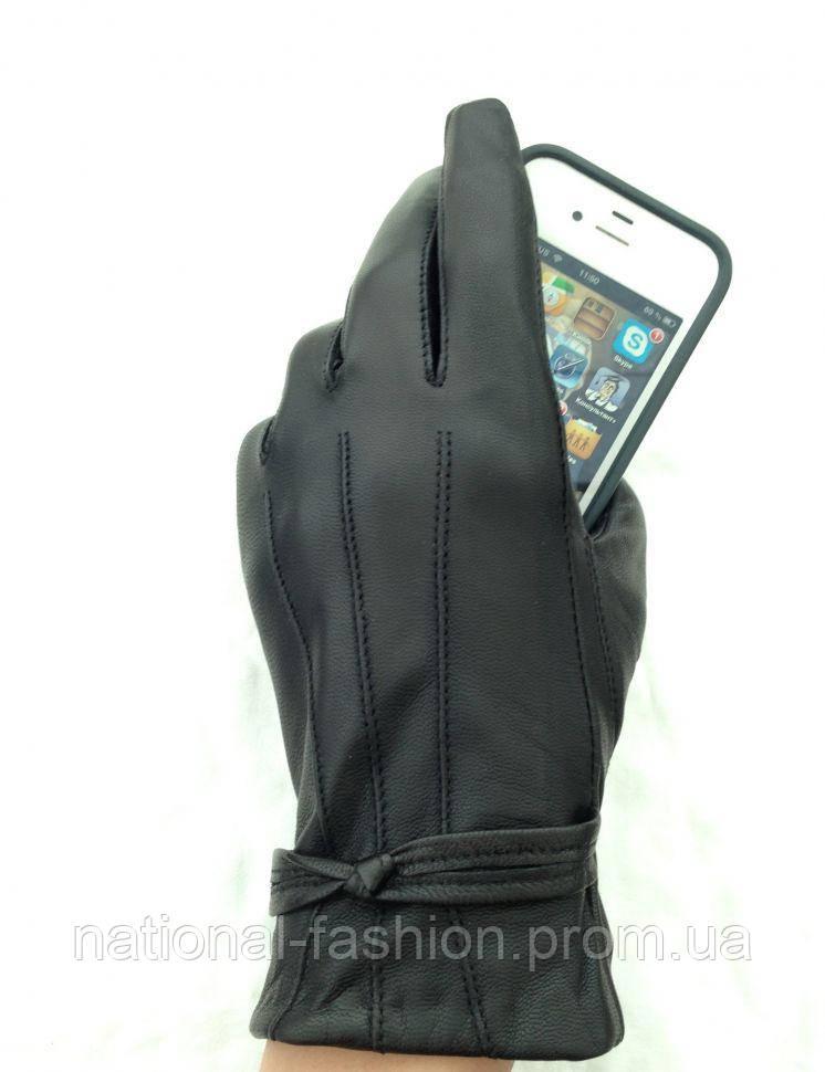 Сенсорные кожаные женские перчатки Everiot Touch EVT-5288