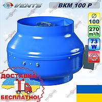 ВЕНТС ВКМ 100 Р канальный вентилятор со шнуром питания (VENTS VKM 100 R), фото 1
