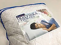 Подушка стёганая силиконовая 70х70