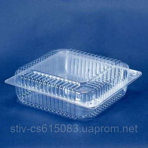 Пластиковая упаковка для кондитерских изделий пс-55 (3300  мл)