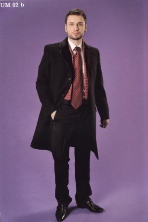 Пальто мужское West-Fashion модель UM-02b